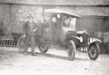 Joe Kelleway with Seely's estate Model T Ford