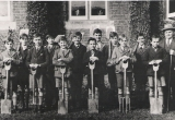 Gardening class at school circa 1932