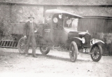 Joe Kelleway with Seely's estate Model T Ford